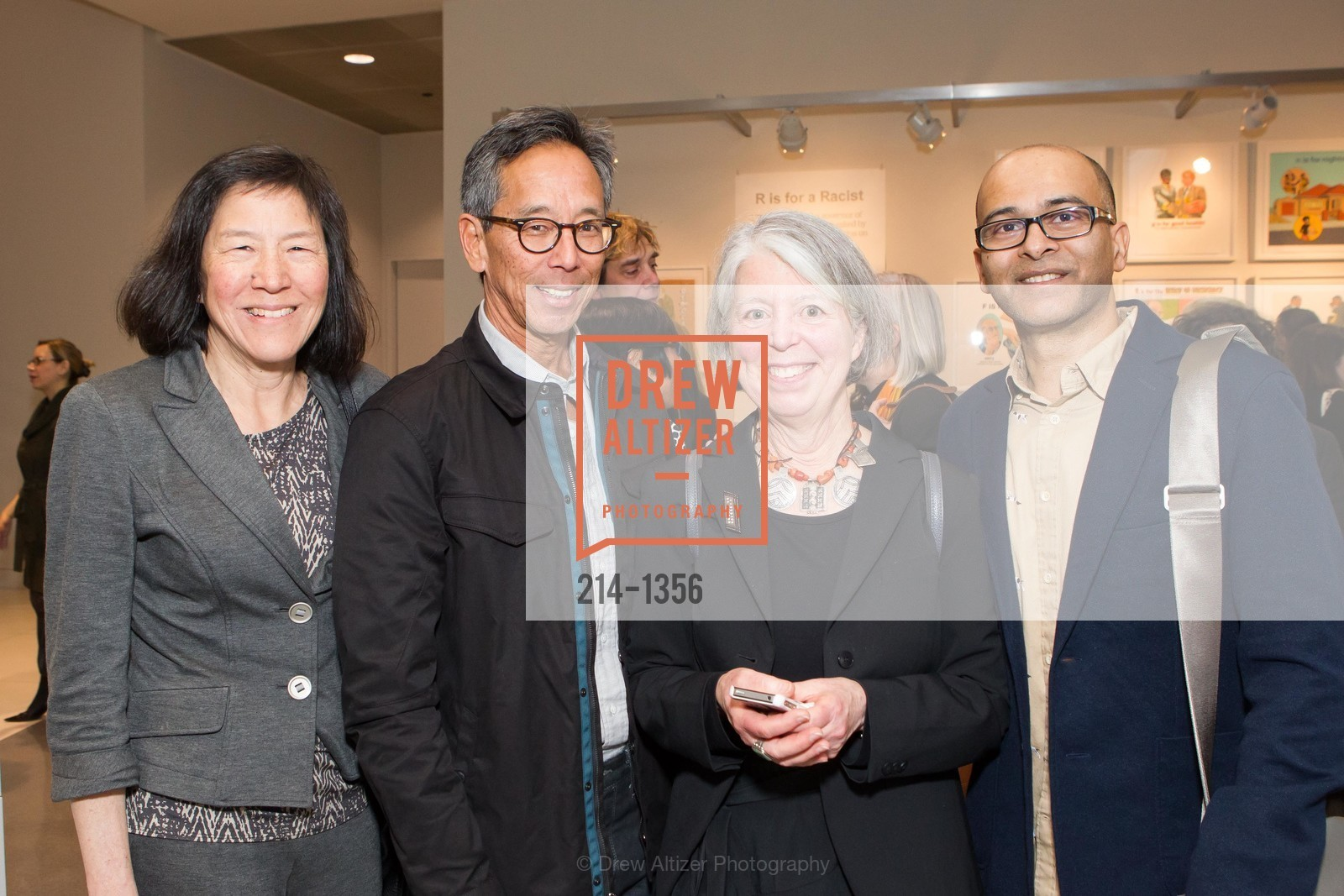 Robin Wu, Reagan Louie, Sandra Phillips, Allan DeSouza, Photo #214-1356