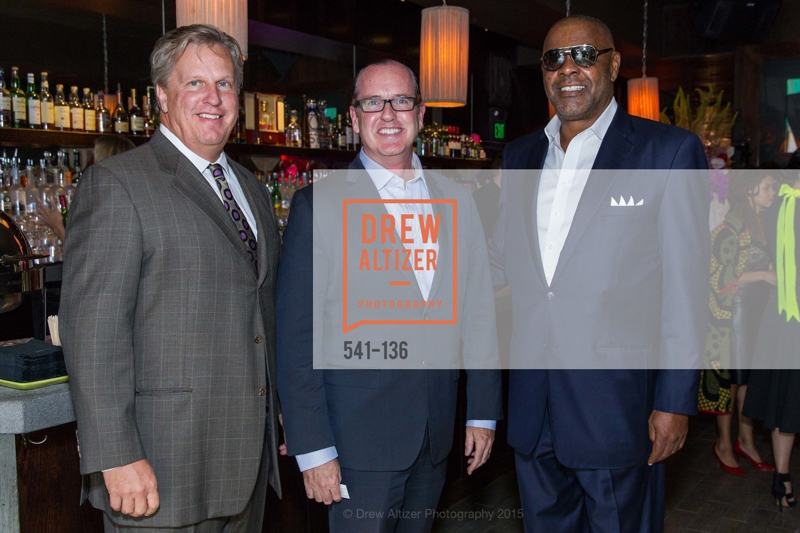 Michael Mohrrman, Joseph Deery, Michael Baines,  Inspired Luxe Launch Party hosted by Denise Bradley-Tyson, MatrixFillmore, May 27th, 2015,Drew Altizer, Drew Altizer Photography, full-service agency, private events, San Francisco photographer, photographer california