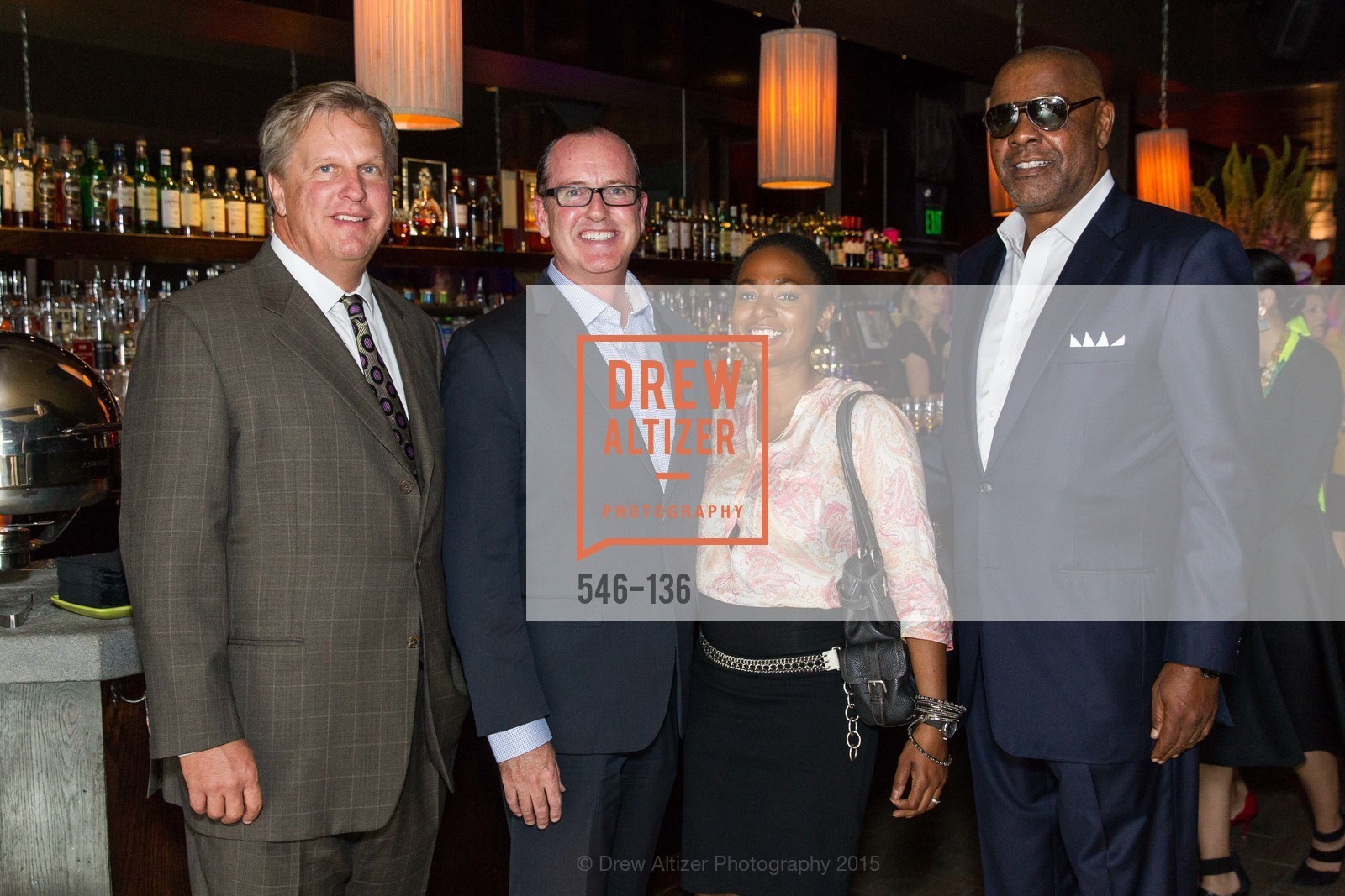 Michael Mohrrman, Joseph Deery, Keysha Bailey, Michael Baines,  Inspired Luxe Launch Party hosted by Denise Bradley-Tyson, MatrixFillmore, May 27th, 2015,Drew Altizer, Drew Altizer Photography, full-service agency, private events, San Francisco photographer, photographer california
