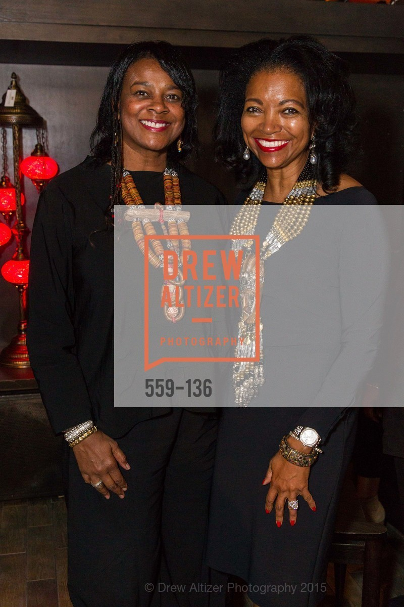 Vicki Hughes, Denise Bradley Tyson,  Inspired Luxe Launch Party hosted by Denise Bradley-Tyson, MatrixFillmore, May 27th, 2015,Drew Altizer, Drew Altizer Photography, full-service agency, private events, San Francisco photographer, photographer california