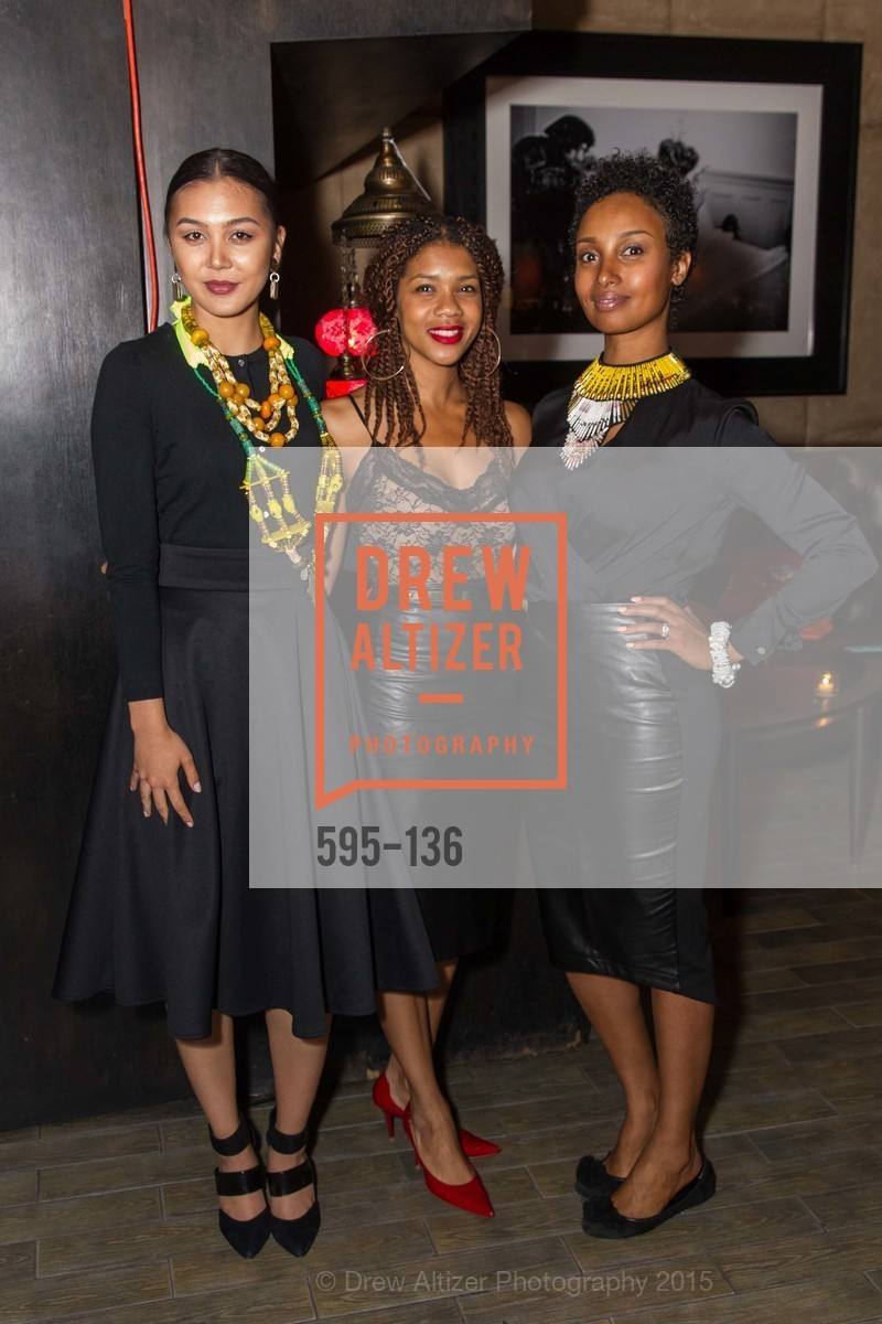 Natalie Reclosado, Alanna Rayford, Senait Mengstab,  Inspired Luxe Launch Party hosted by Denise Bradley-Tyson, MatrixFillmore, May 27th, 2015,Drew Altizer, Drew Altizer Photography, full-service agency, private events, San Francisco photographer, photographer california