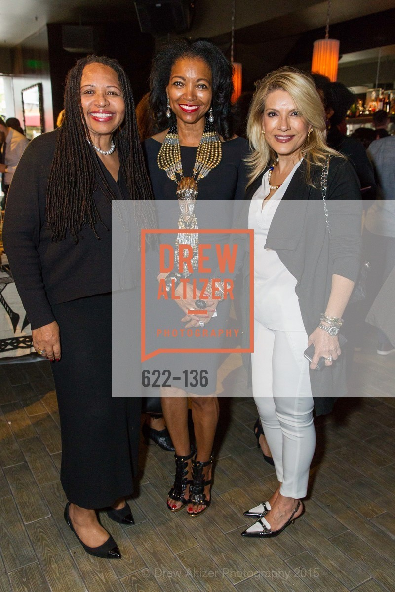 Deborah Matthews, Denise Bradley Tyson, Rebeca Iranshahr,  Inspired Luxe Launch Party hosted by Denise Bradley-Tyson, MatrixFillmore, May 27th, 2015