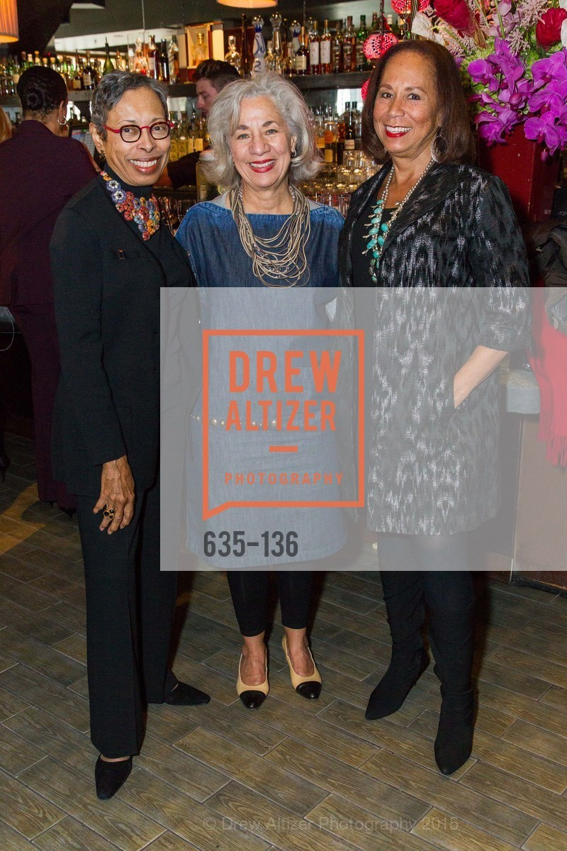 Greta Clarke Wims, Peggy Forbes, Schyleen Qualls,  Inspired Luxe Launch Party hosted by Denise Bradley-Tyson, MatrixFillmore, May 27th, 2015,Drew Altizer, Drew Altizer Photography, full-service agency, private events, San Francisco photographer, photographer california