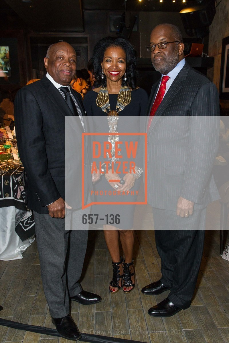 Willie Brown, Denise Bradley Tyson, Bernard Tyson,  Inspired Luxe Launch Party hosted by Denise Bradley-Tyson, MatrixFillmore, May 27th, 2015,Drew Altizer, Drew Altizer Photography, full-service agency, private events, San Francisco photographer, photographer california