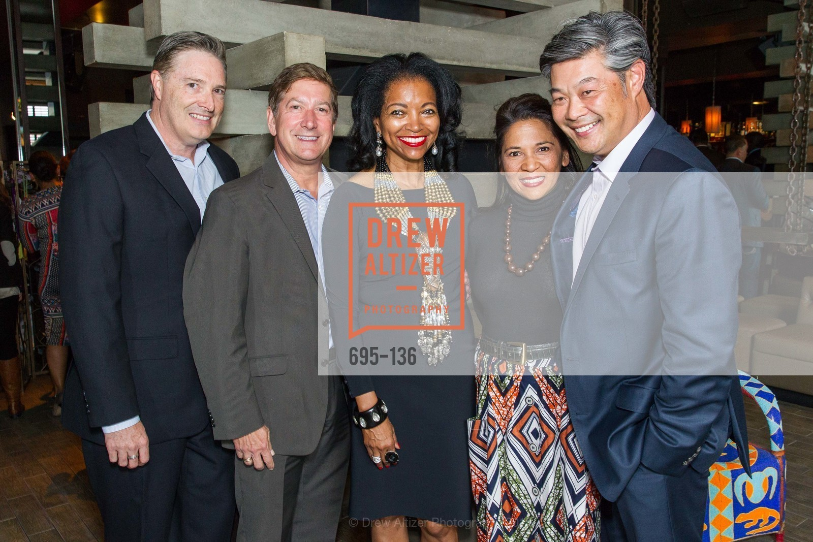 David Jones, Joe D'Alessandro, Denise Bradley Tyson, Darlene Fong, Rodney Fong,  Inspired Luxe Launch Party hosted by Denise Bradley-Tyson, MatrixFillmore, May 27th, 2015,Drew Altizer, Drew Altizer Photography, full-service agency, private events, San Francisco photographer, photographer california