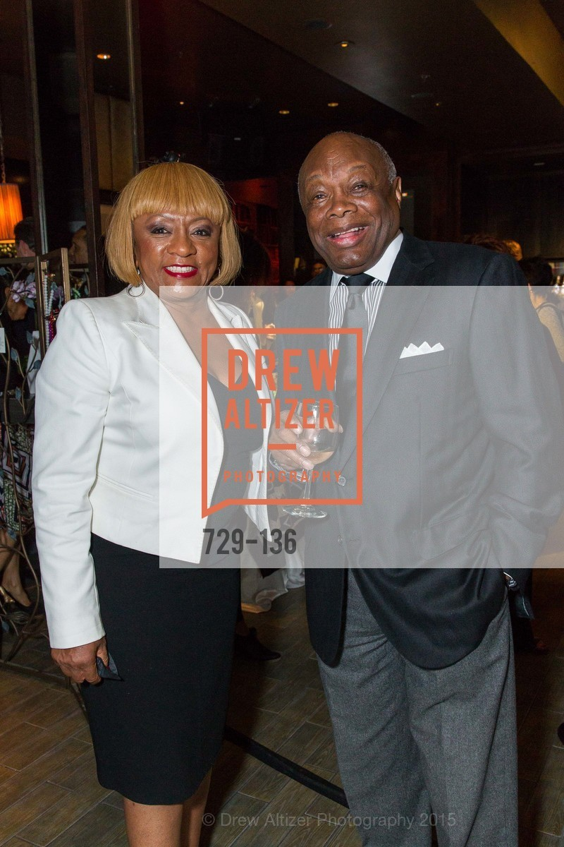 Brenda Wright, Willie Brown,  Inspired Luxe Launch Party hosted by Denise Bradley-Tyson, MatrixFillmore, May 27th, 2015,Drew Altizer, Drew Altizer Photography, full-service agency, private events, San Francisco photographer, photographer california