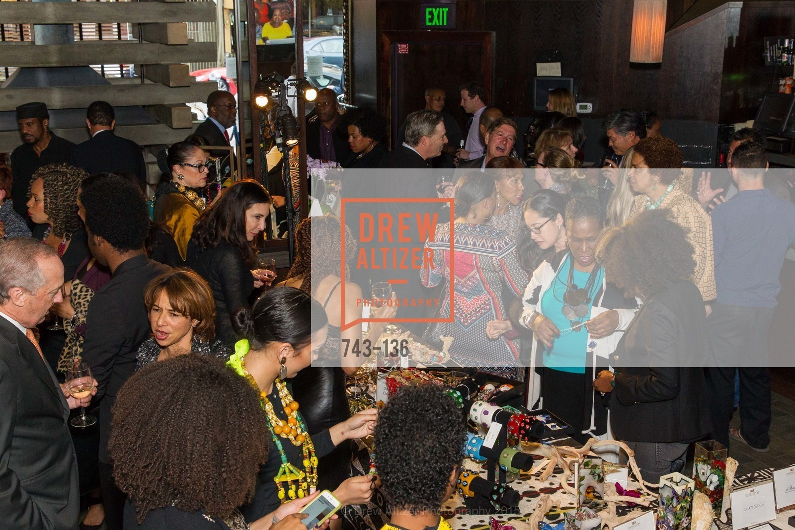 Atmosphere,  Inspired Luxe Launch Party hosted by Denise Bradley-Tyson, MatrixFillmore, May 27th, 2015