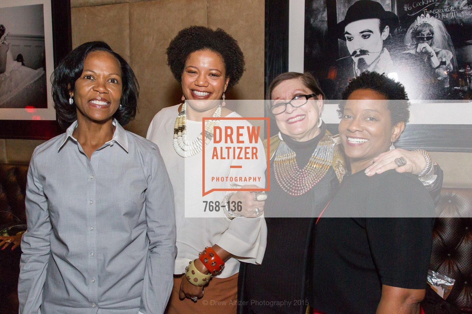 Heather Philip, Yvette Hollingsworth, Masha Archer, Beverly Anderson,  Inspired Luxe Launch Party hosted by Denise Bradley-Tyson, MatrixFillmore, May 27th, 2015,Drew Altizer, Drew Altizer Photography, full-service agency, private events, San Francisco photographer, photographer california