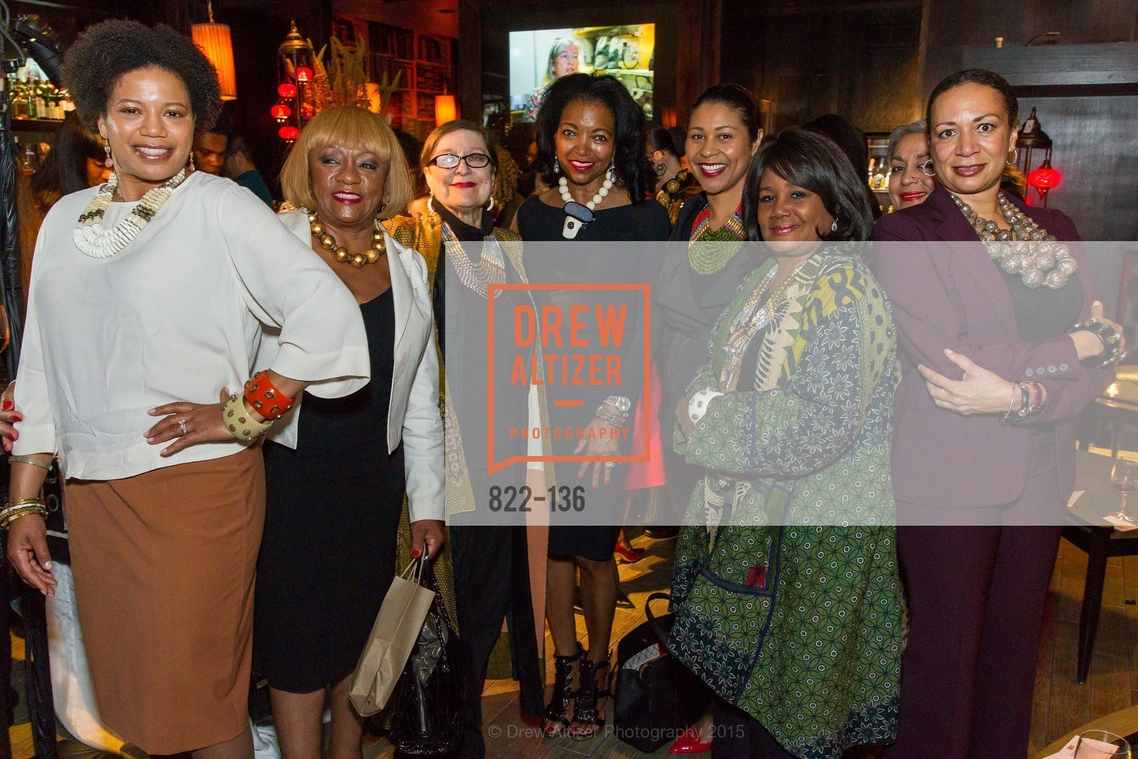 Brenda Wright, Masha Archer, Denise Bradley Tyson, London Breed, Carolyn Tyler, Diedre Levinton,  Inspired Luxe Launch Party hosted by Denise Bradley-Tyson, MatrixFillmore, May 27th, 2015,Drew Altizer, Drew Altizer Photography, full-service agency, private events, San Francisco photographer, photographer california