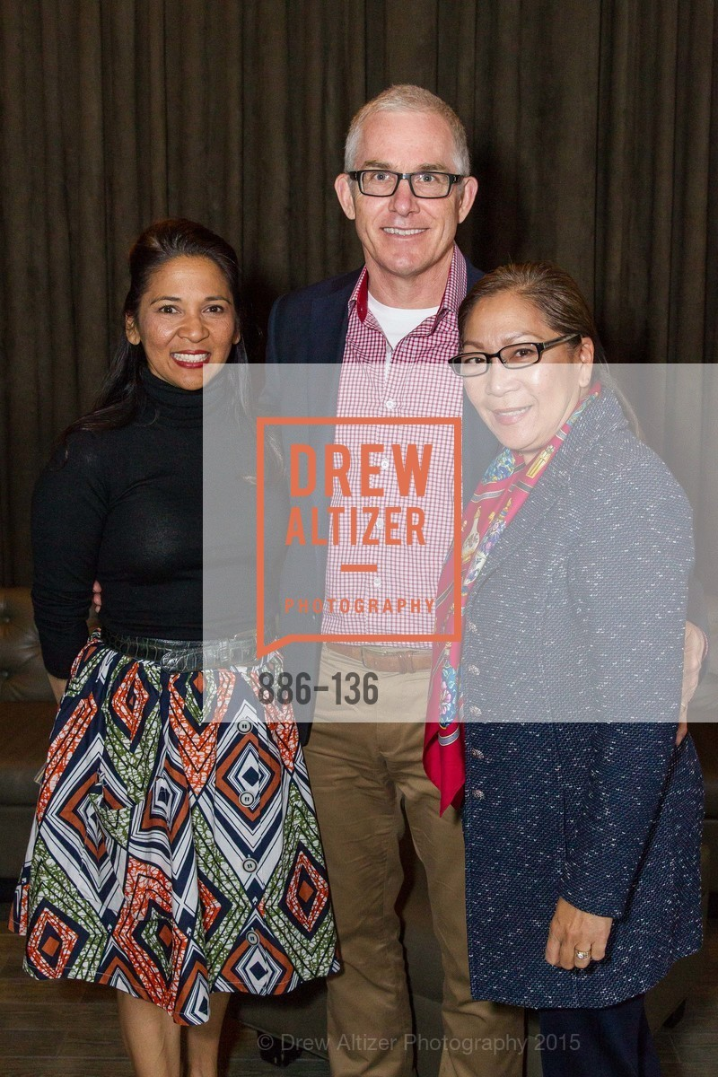 Darlene Fong, Chris Wagner, Lillian Wagner,  Inspired Luxe Launch Party hosted by Denise Bradley-Tyson, MatrixFillmore, May 27th, 2015,Drew Altizer, Drew Altizer Photography, full-service agency, private events, San Francisco photographer, photographer california