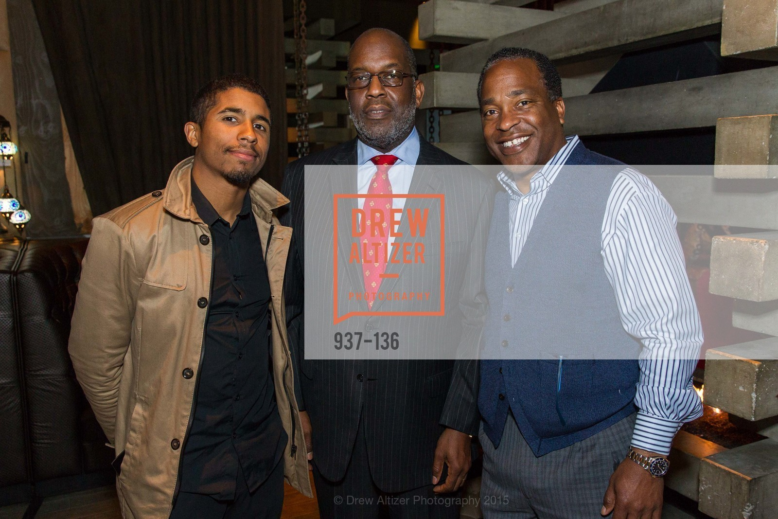 Chris Lyons, Bernard Tyson,  Inspired Luxe Launch Party hosted by Denise Bradley-Tyson, MatrixFillmore, May 27th, 2015,Drew Altizer, Drew Altizer Photography, full-service agency, private events, San Francisco photographer, photographer california