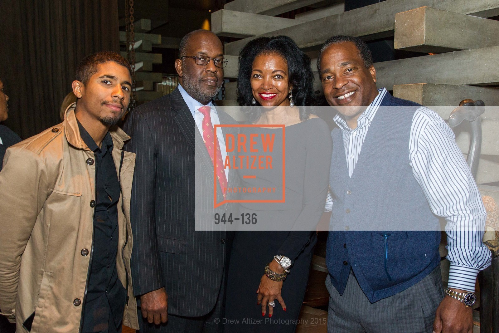 Chris Lyons, Bernard Tyson, Denise Bradley Tyson,  Inspired Luxe Launch Party hosted by Denise Bradley-Tyson, MatrixFillmore, May 27th, 2015,Drew Altizer, Drew Altizer Photography, full-service agency, private events, San Francisco photographer, photographer california