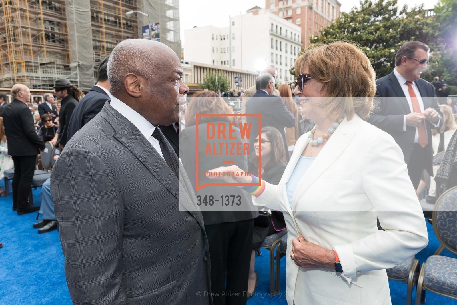 Willie Brown, Nancy Pelosi, Photo #348-1373