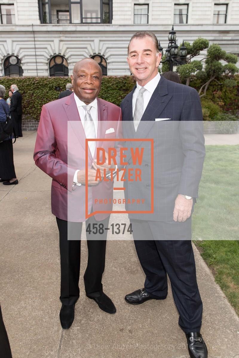 Willie Brown, Marc Corsi, Photo #458-1374