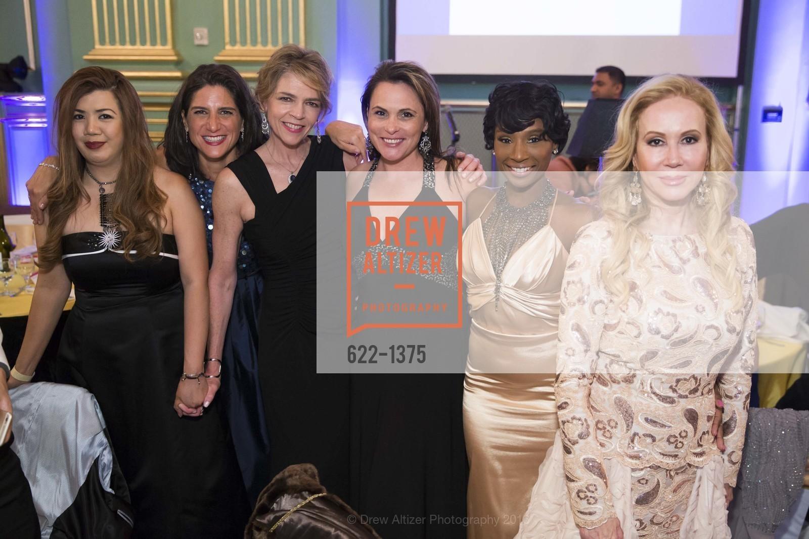 Kaye Cloutman, Vivian Panou, Beth Schnitzer, Teresa Rodriguez, Pernella Sommerville, Sophie Azouaou, Photo #622-1375