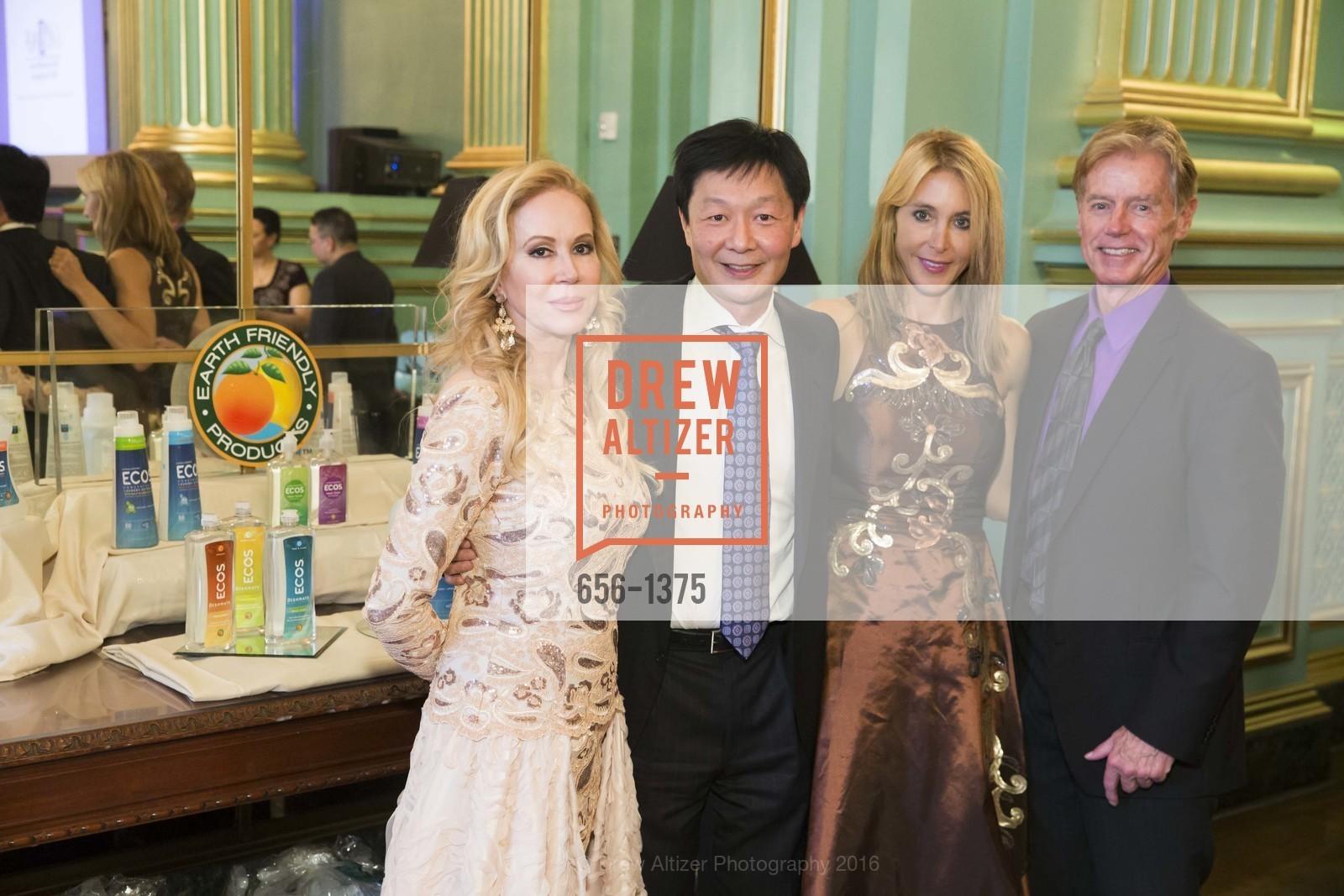 Sophie Azouaou, Albert Chow, Eileen Blum-Bourgade, Ken Henderson, Photo #656-1375
