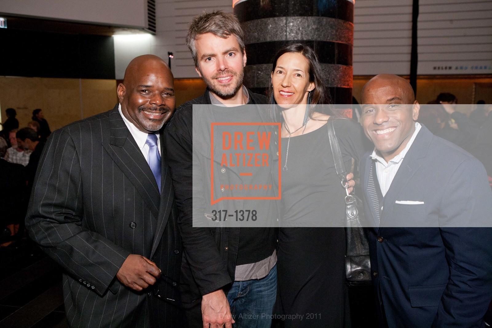 Oliver Glover, Tim Paschke, Marilynne Morsehead, Marcus Keller, Photo #317-1378