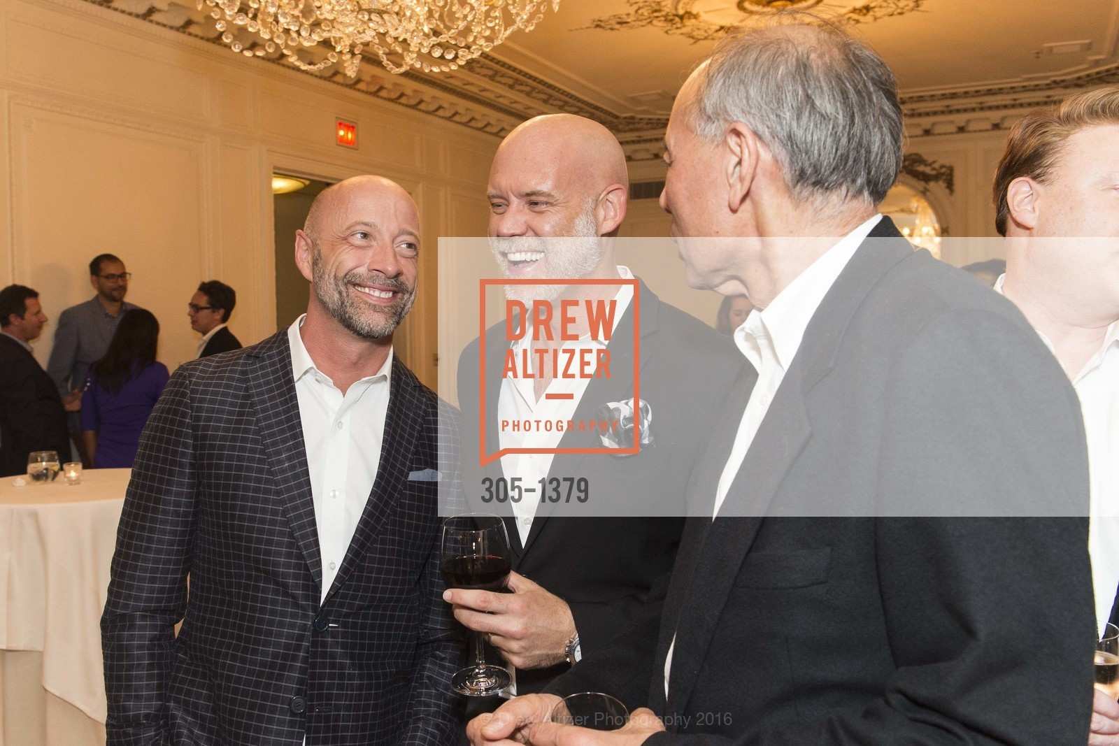 Dan Bernal, Dan Burns, Bill Lee, Photo #305-1379
