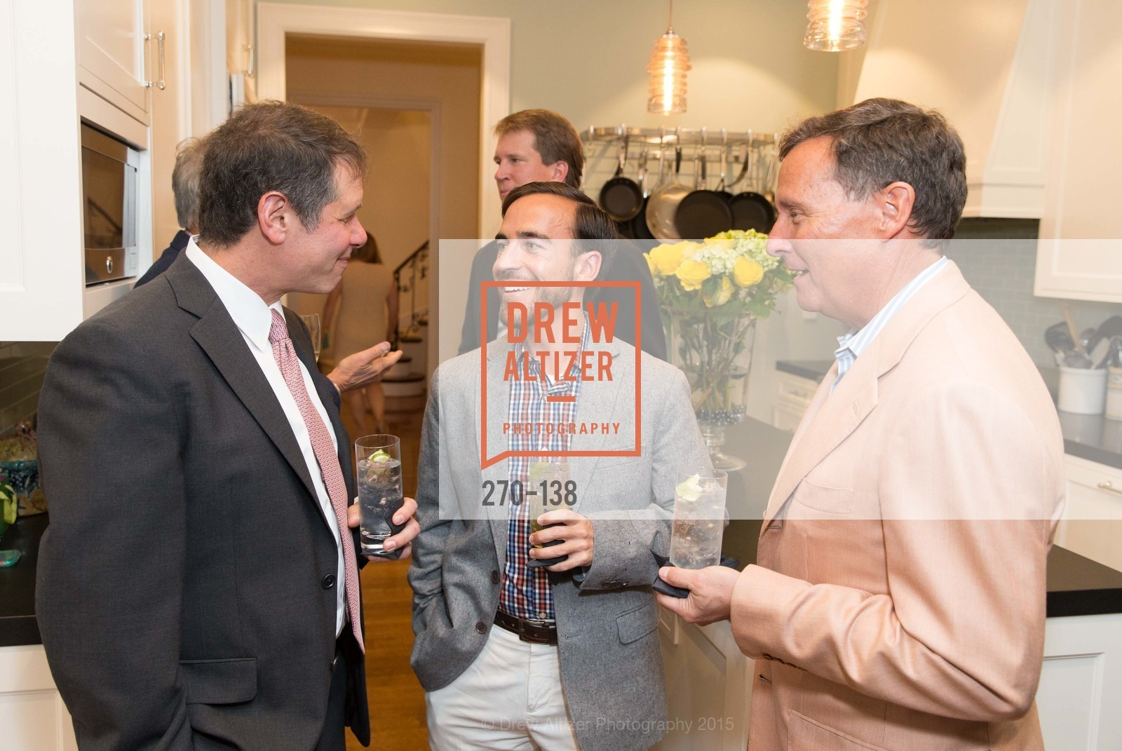 David Sherman, Mike Vincent, Chris Jones, Fair Trade USA: Tapas, Sangria & Music, Private Residence, May 29th, 2015,Drew Altizer, Drew Altizer Photography, full-service agency, private events, San Francisco photographer, photographer california