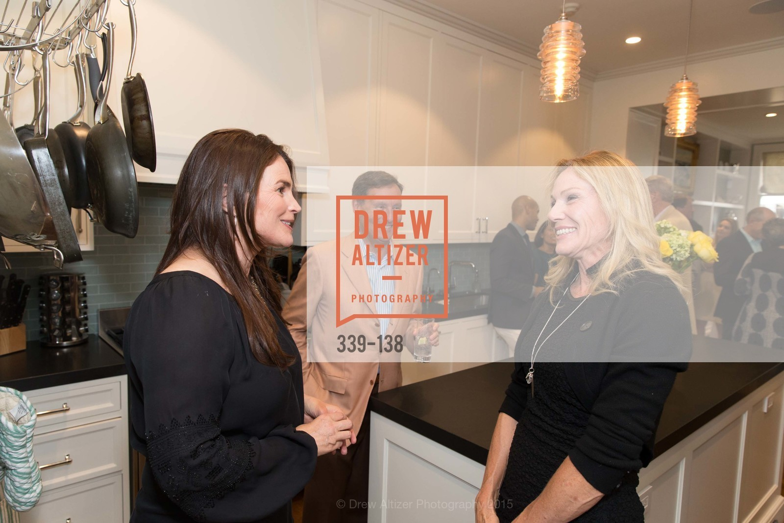 Julia Ormond, Rosemary Baker, Fair Trade USA: Tapas, Sangria & Music, Private Residence, May 29th, 2015,Drew Altizer, Drew Altizer Photography, full-service agency, private events, San Francisco photographer, photographer california