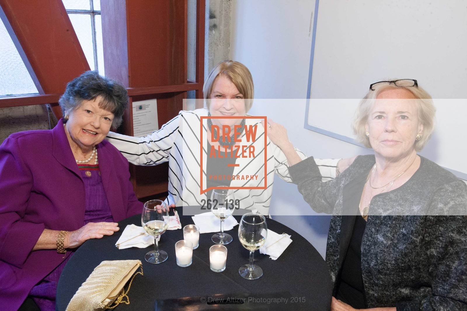 Moira Kimball, Peggy Dougherty, Helen Hughes, Homeless Prenatal Program Our House, Our Mission Gala, 2500 18th St, May 29th, 2015,Drew Altizer, Drew Altizer Photography, full-service agency, private events, San Francisco photographer, photographer california