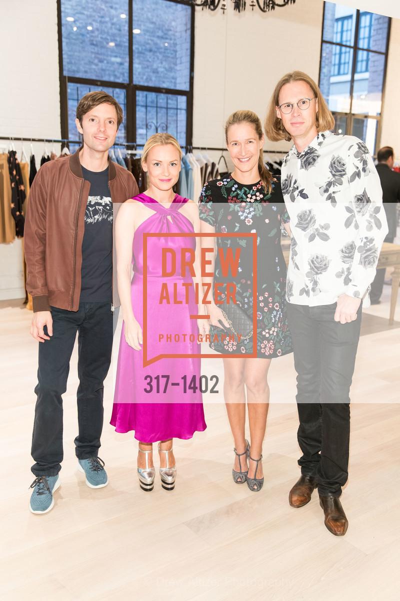Matt Cohler Pia Cohler, Nina Stanford, Michael Birch, Photo #317-1402