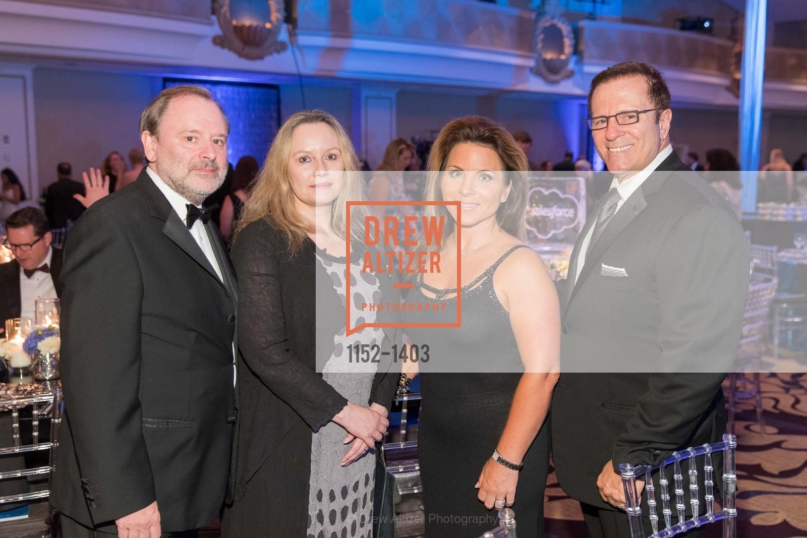 Dr. Alan Ashworth, Amanda McGuigan, MaryLisabeth Rich, Greg Murphy, Photo #1152-1403