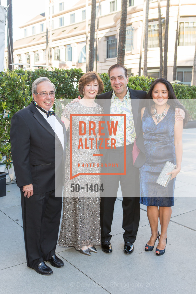 Mike Nevens, Yvonne Nevens, Alberto Torres, Lydia Itoi, Photo #50-1404