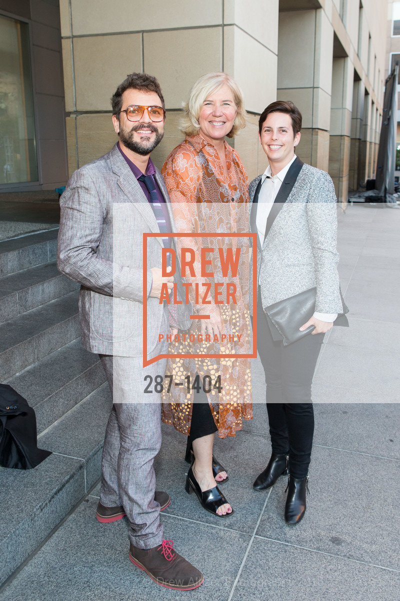 Maximo Gonzalez, Susan Sayre Batton, Jessica Silverman, Photo #287-1404
