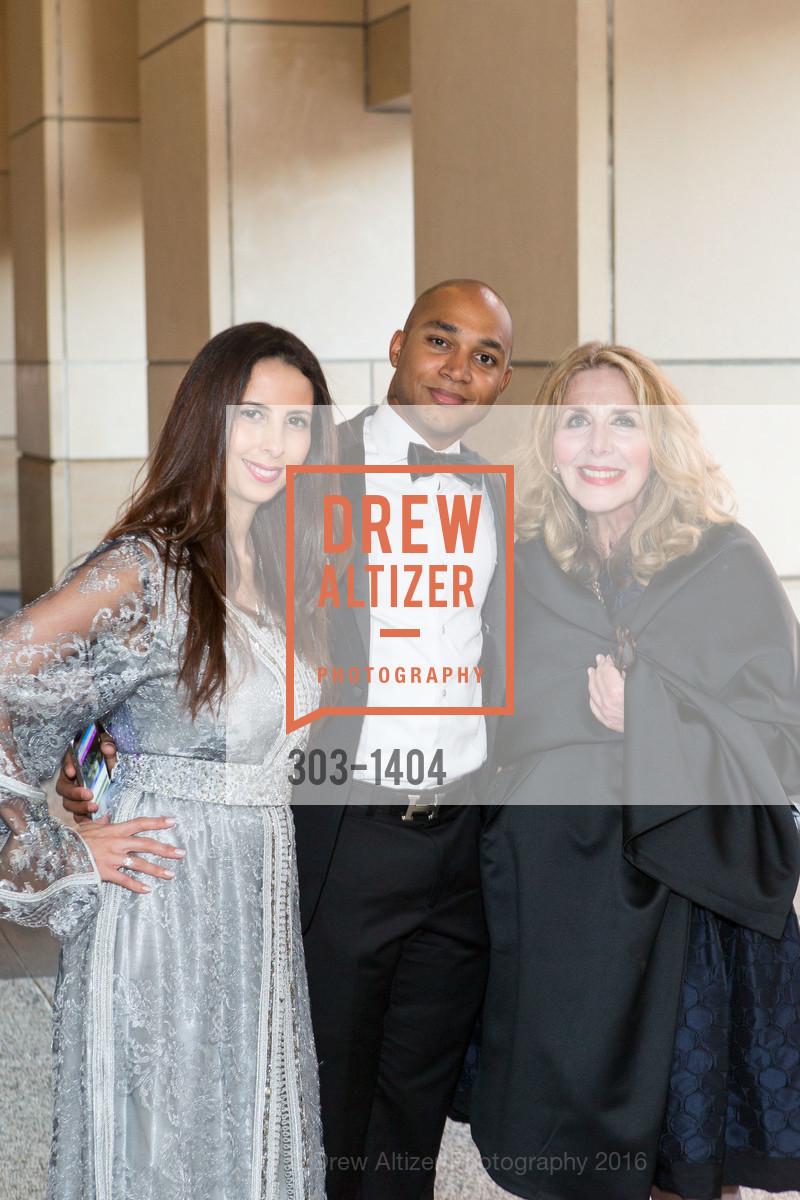 Maria Rezak, Pierre Mayar, Carol Pizzo, Photo #303-1404