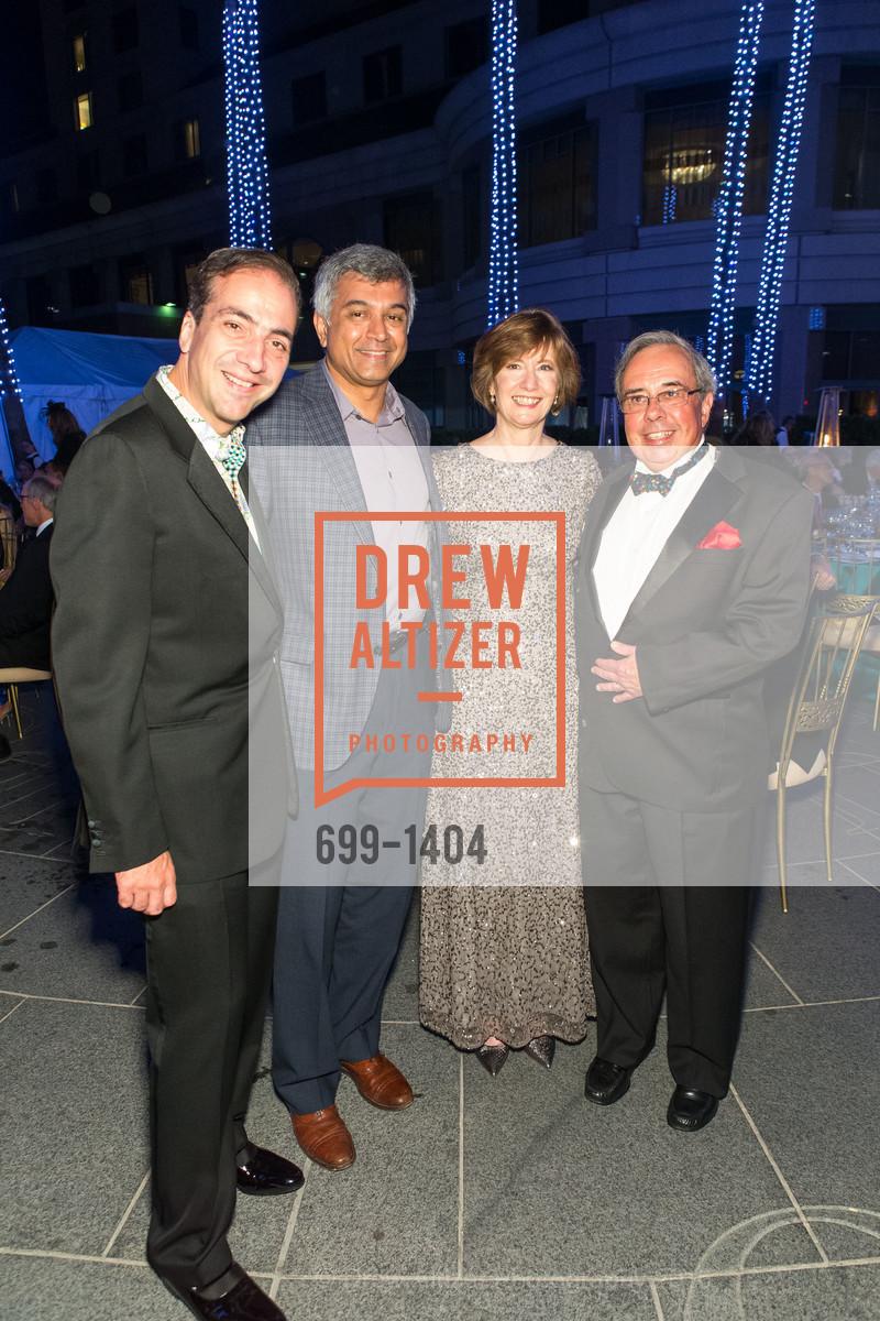 Alberto Torres, Chandran Sankaran, Yvonne Nevens, Mike Nevens, Photo #699-1404