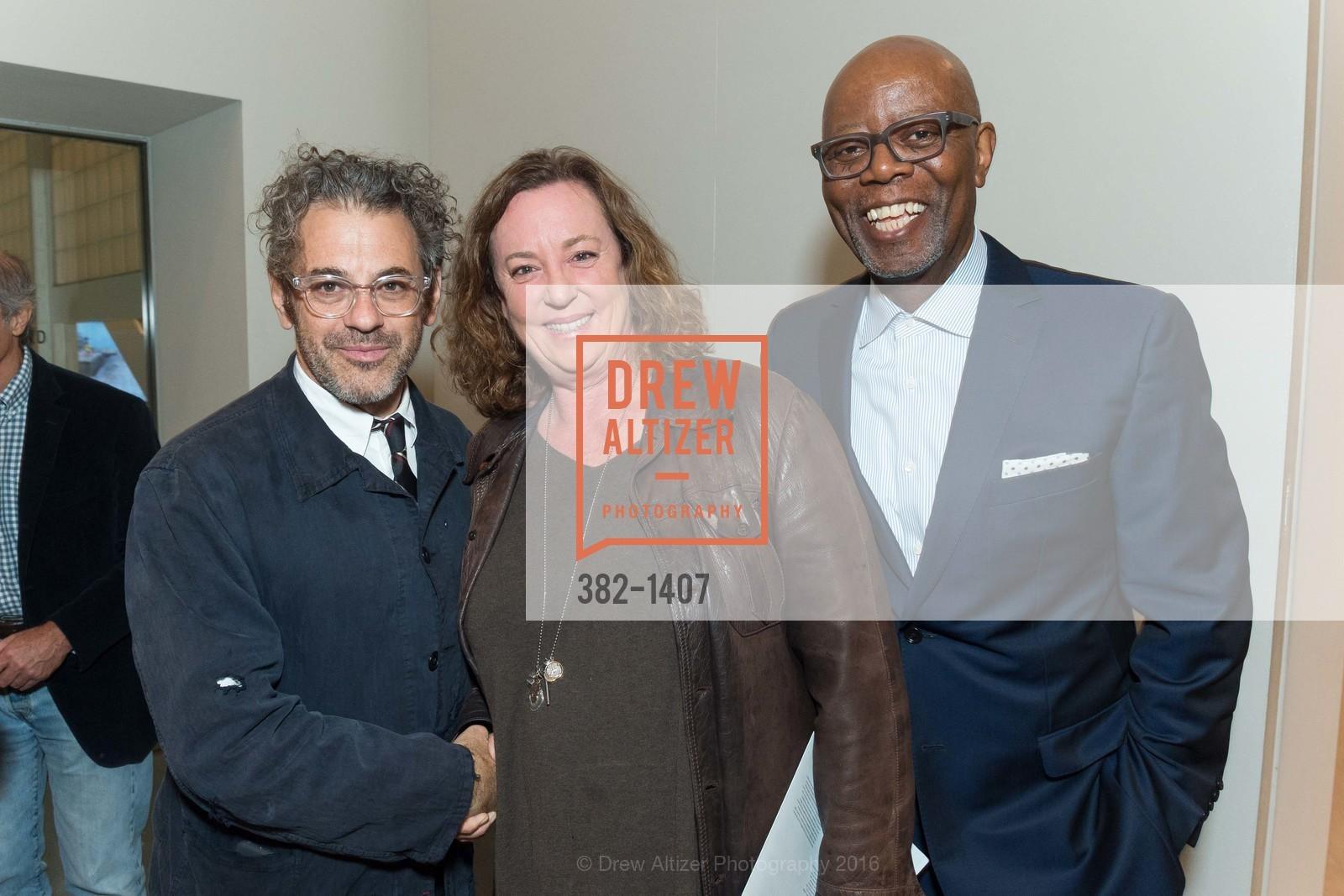 Tom Sachs, Sheila Duigman, Charles Ward, Photo #382-1407