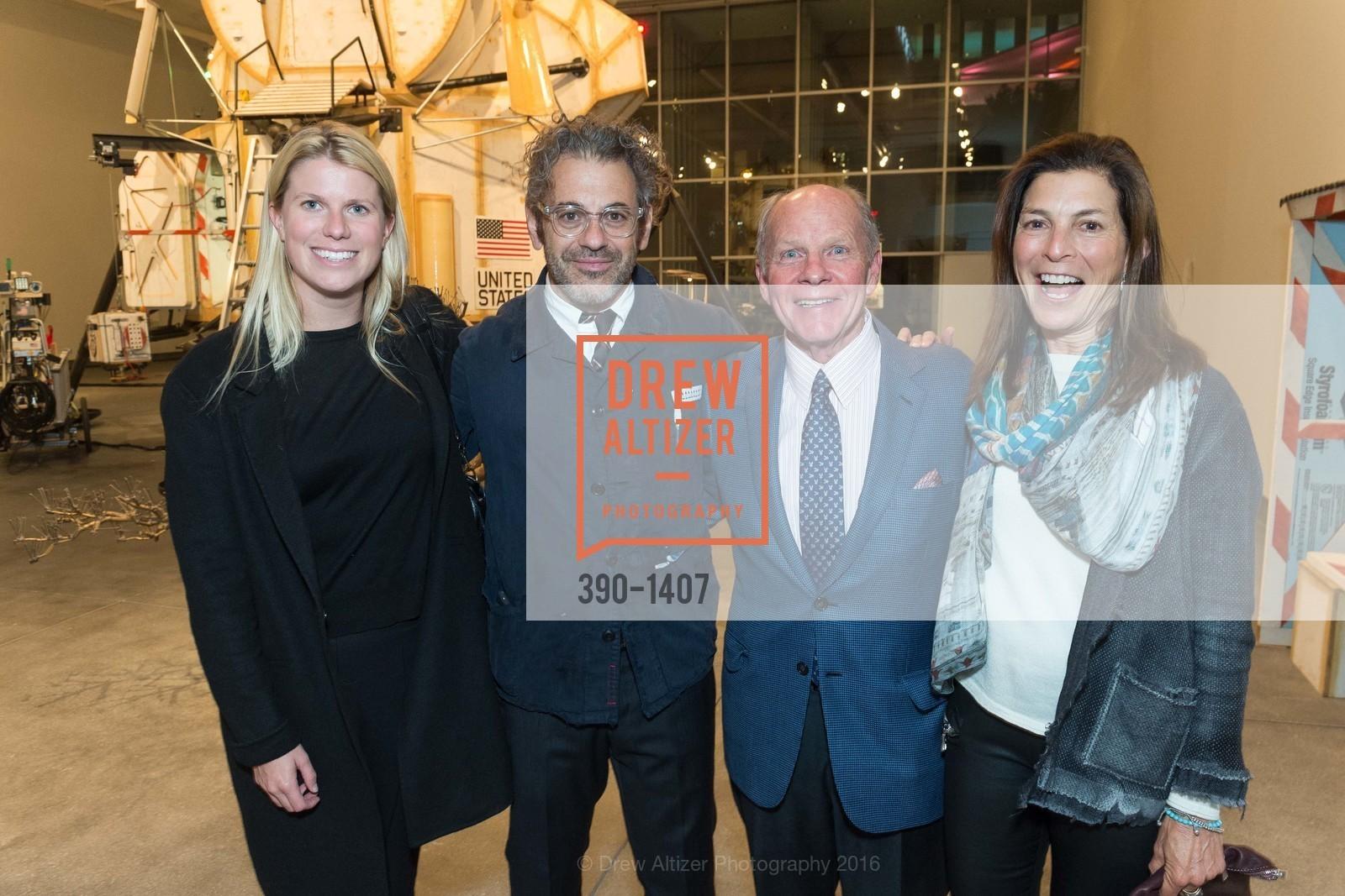 Sarah Wendell, Tom Sachs, John Berggruen, Susan Swig, Photo #390-1407