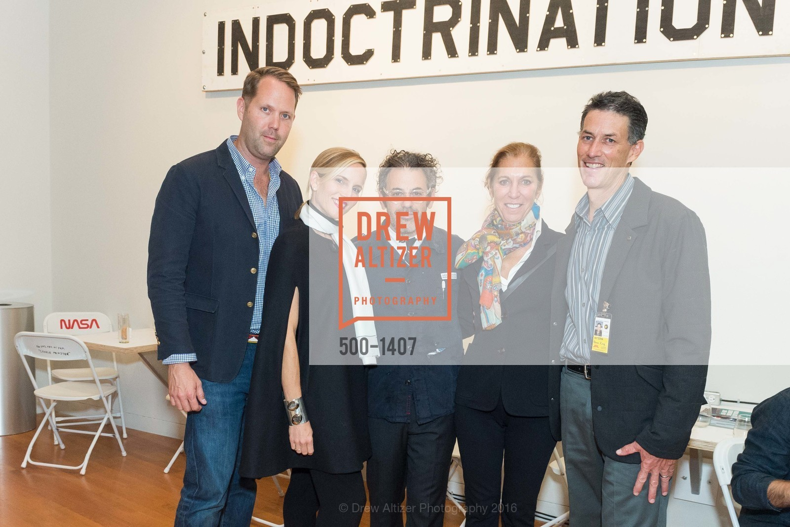 Alan Dye, Elizabeth Dye, Tom Sachs, Meridee Moore, Kevin King, Photo #500-1407