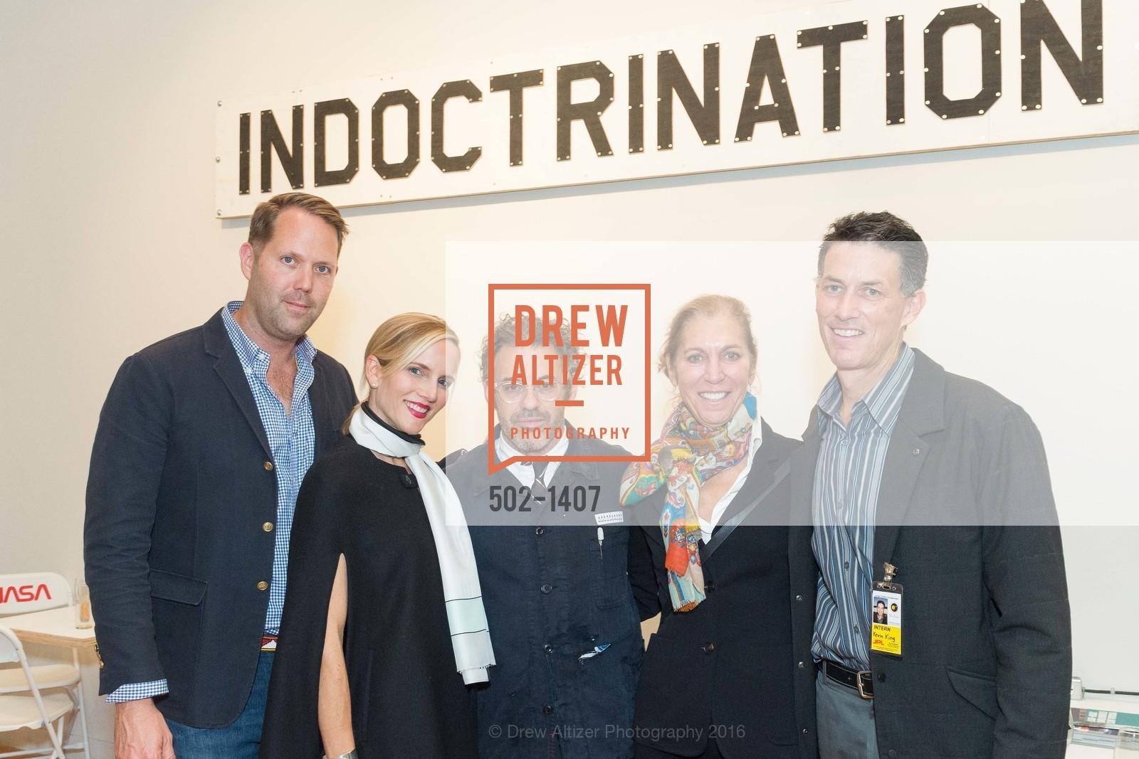 Alan Dye, Elizabeth Dye, Tom Sachs, Meridee Moore, Kevin King, Photo #502-1407
