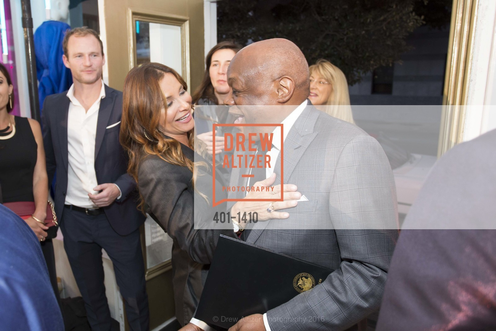 Claudia Ross, Willie Brown, Photo #401-1410