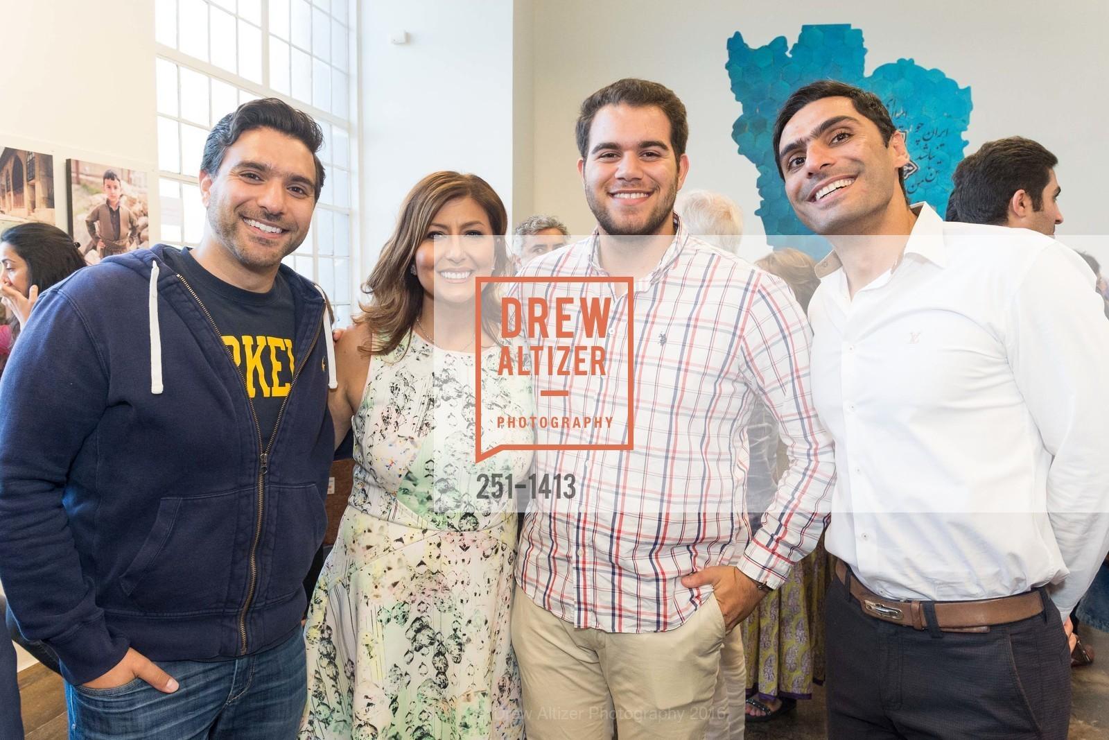 Keyan Keshari, Farzaneh Jabbari, Danial Abar, Mehdi Kazami, Photo #251-1413
