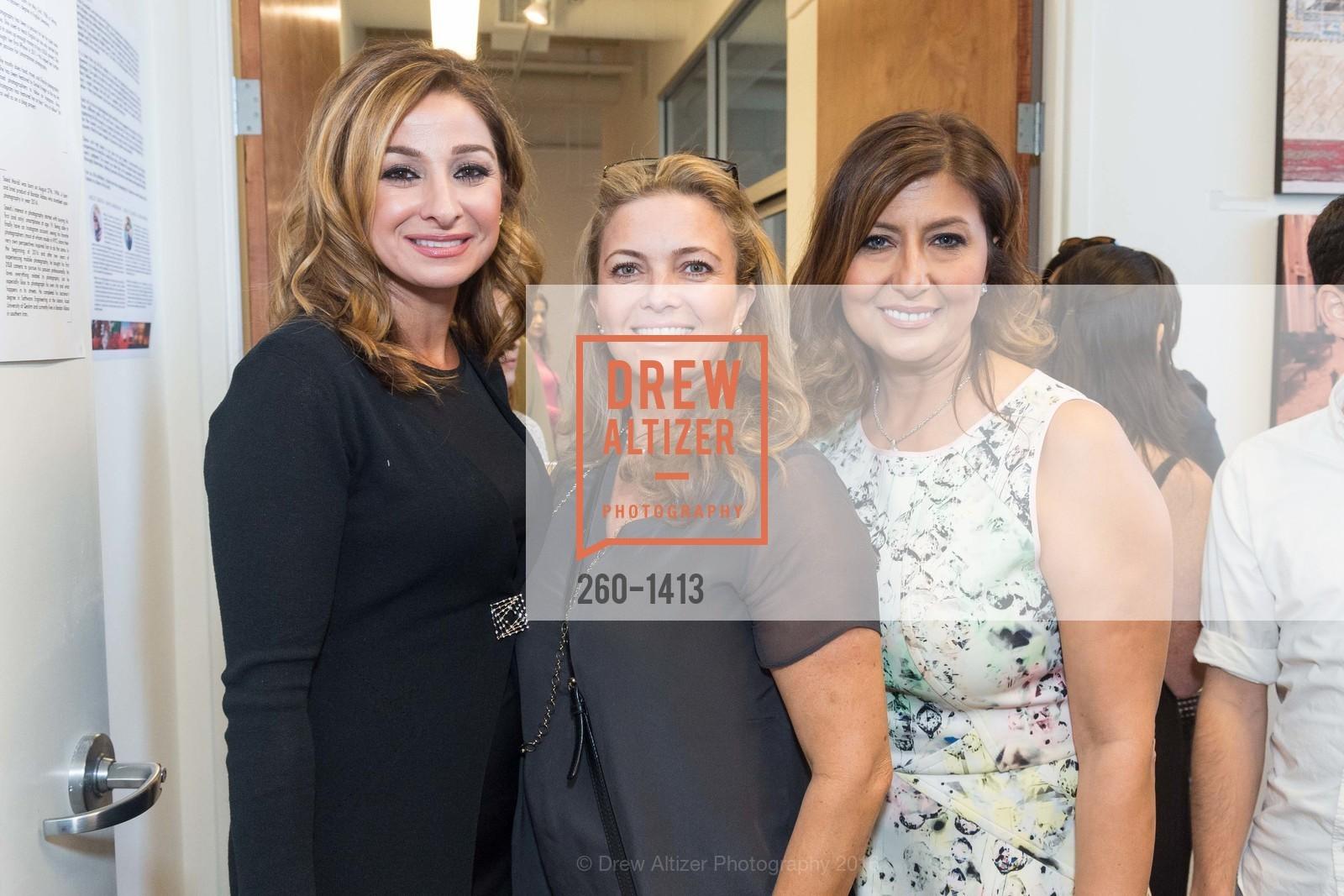 Nardine Alijanian, Gaby Ghorbani, Farzaneh Jabbari, Photo #260-1413