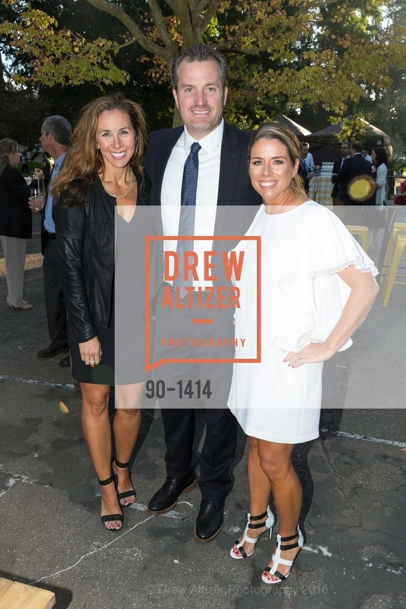 Gina Eggert, Chuck Eggert, Liz Farrell, Photo #90-1414