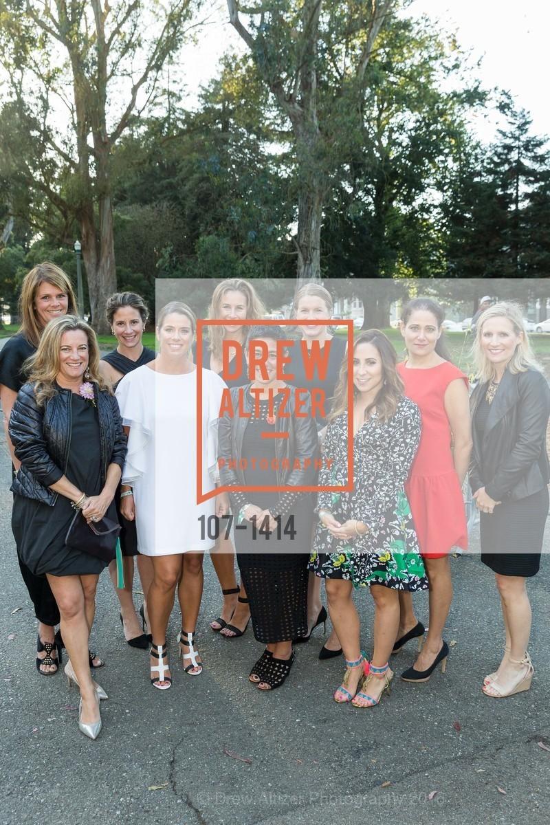 Christine Gardner, Sophie Hayward, Gina Eggert, Caroline Brinckerhoff, Martine Krumholz, Katie Khasigian, Carolyn Edwards, Liz Farrell, Emily Ginsburg, Mather Martin, Photo #107-1414