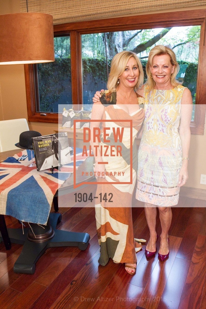 Lisa Keith, Alison Carlson, THE MAN WITHIN book launch with Randolph Churchill, Private Residence, June 2nd, 2015,Drew Altizer, Drew Altizer Photography, full-service agency, private events, San Francisco photographer, photographer california