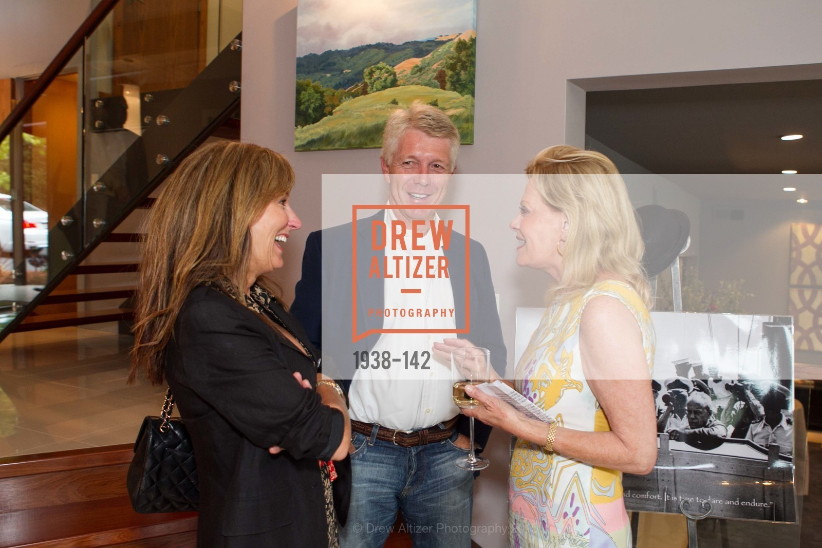 Jude Thornton Clark, Alison Carlson, THE MAN WITHIN book launch with Randolph Churchill, Private Residence, June 2nd, 2015,Drew Altizer, Drew Altizer Photography, full-service agency, private events, San Francisco photographer, photographer california