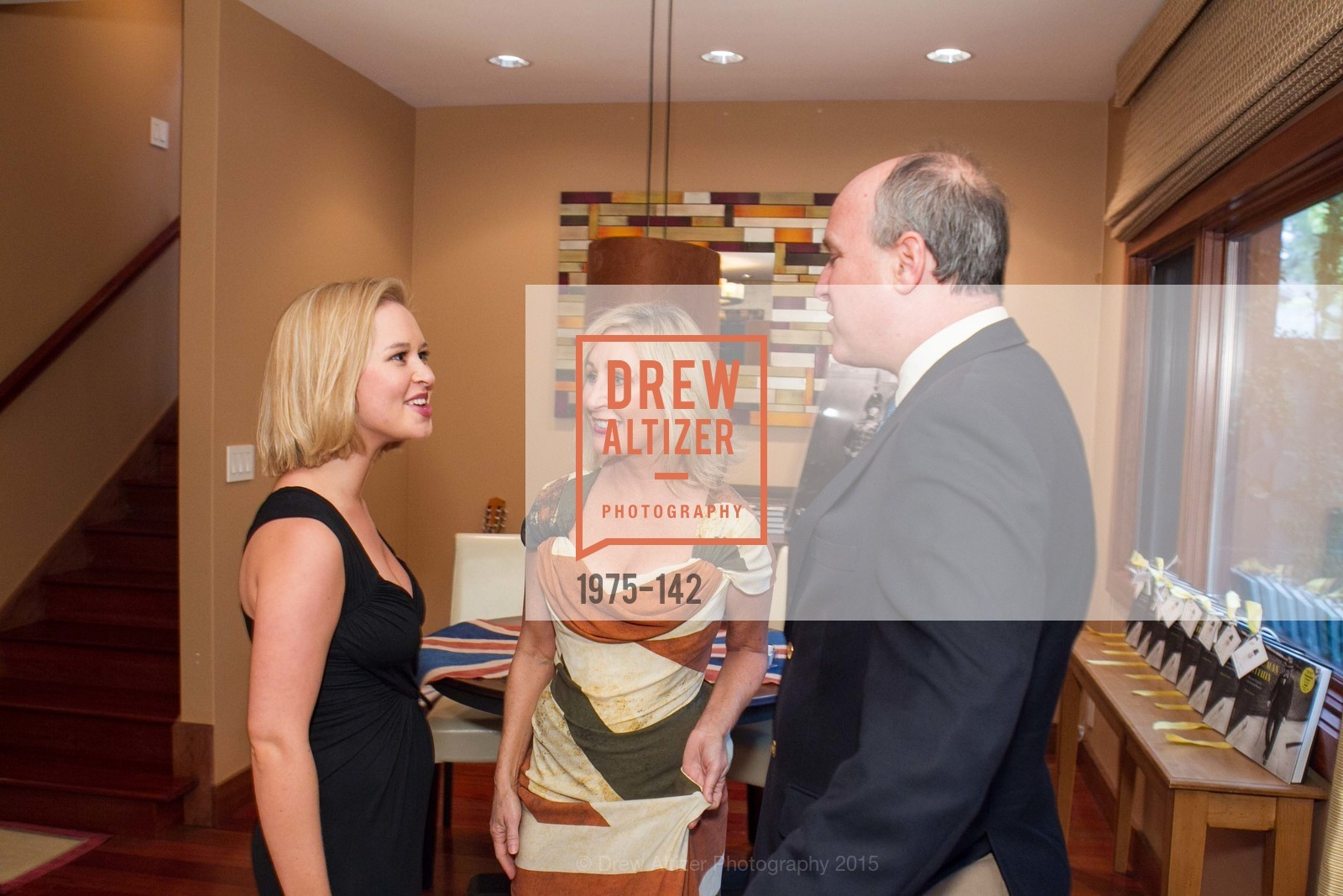 Madeleine Gerhart, Lisa Keith, Randolph Churchill, THE MAN WITHIN book launch with Randolph Churchill, Private Residence, June 2nd, 2015