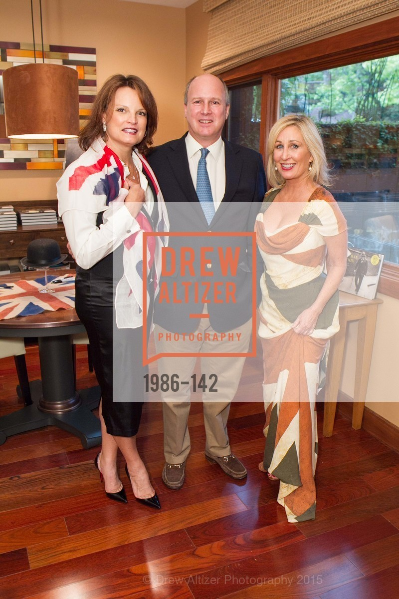 Kelly Tejada, Randolph Churchill, Lisa Keith, THE MAN WITHIN book launch with Randolph Churchill, Private Residence, June 2nd, 2015