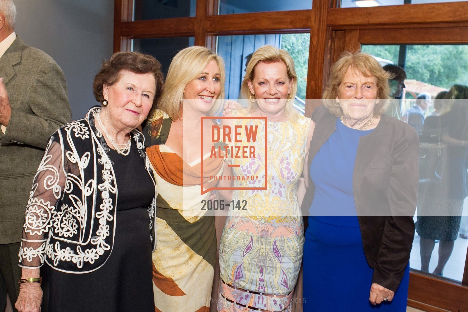Suzanne Keith, Lisa Keith, Alison Carlson, Josephine Fogg, THE MAN WITHIN book launch with Randolph Churchill, Private Residence, June 2nd, 2015