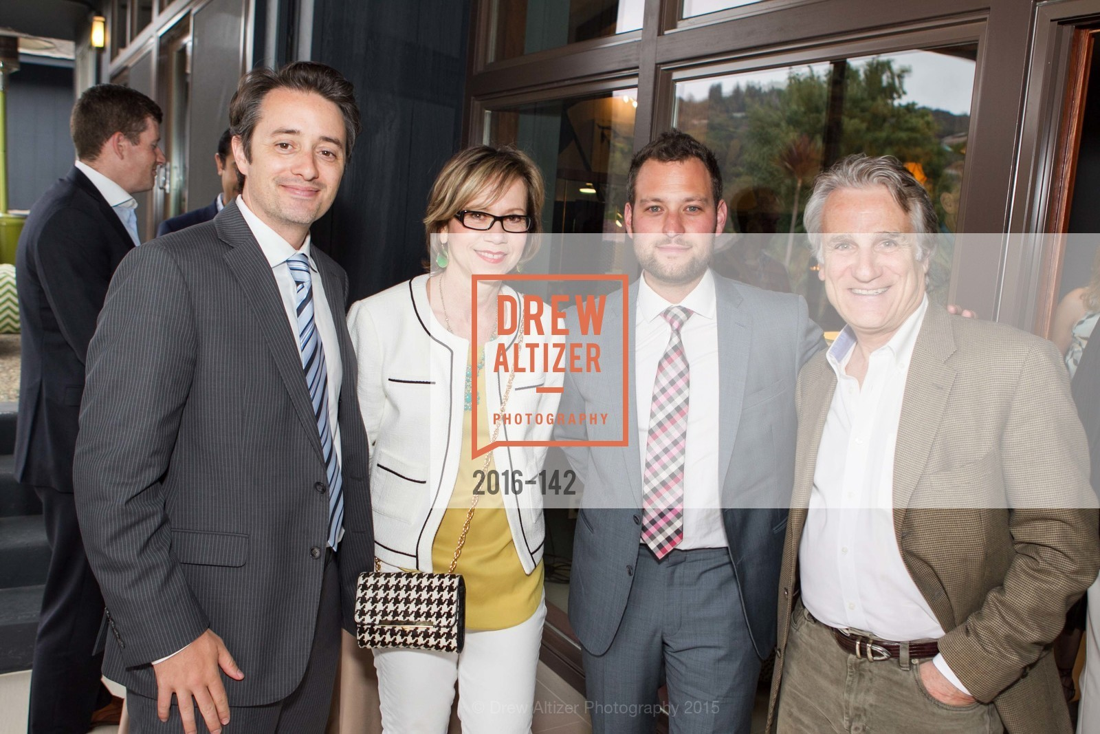 Jeremy Thomas, Anna Cesario, Adam Gomolin, John Cesario, THE MAN WITHIN book launch with Randolph Churchill, Private Residence, June 2nd, 2015,Drew Altizer, Drew Altizer Photography, full-service event agency, private events, San Francisco photographer, photographer California