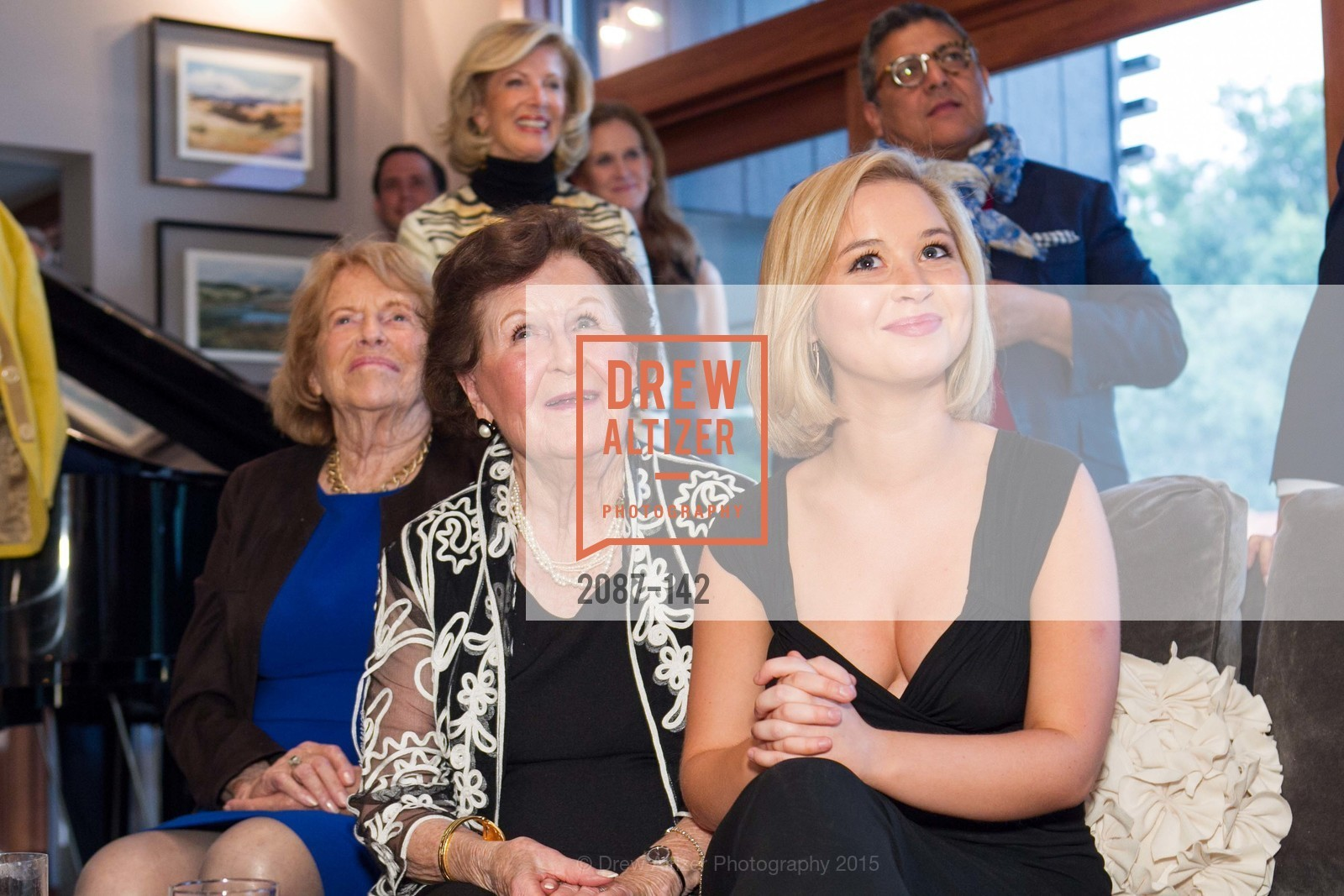 Josephine Fogg, Suzanne Keith, Madeleine Gerhart, THE MAN WITHIN book launch with Randolph Churchill, Private Residence, June 2nd, 2015,Drew Altizer, Drew Altizer Photography, full-service agency, private events, San Francisco photographer, photographer california