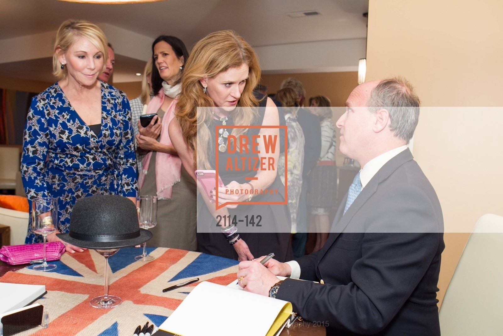Terri Tiffany, Sukey Forbes, Randolph Churchill, THE MAN WITHIN book launch with Randolph Churchill, Private Residence, June 2nd, 2015,Drew Altizer, Drew Altizer Photography, full-service agency, private events, San Francisco photographer, photographer california