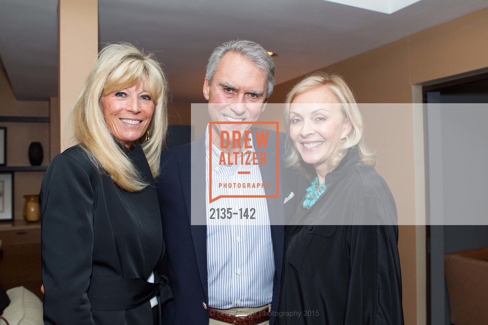 Susan Martin, Jim Hannay, Marsha Hannay, THE MAN WITHIN book launch with Randolph Churchill, Private Residence, June 2nd, 2015,Drew Altizer, Drew Altizer Photography, full-service agency, private events, San Francisco photographer, photographer california