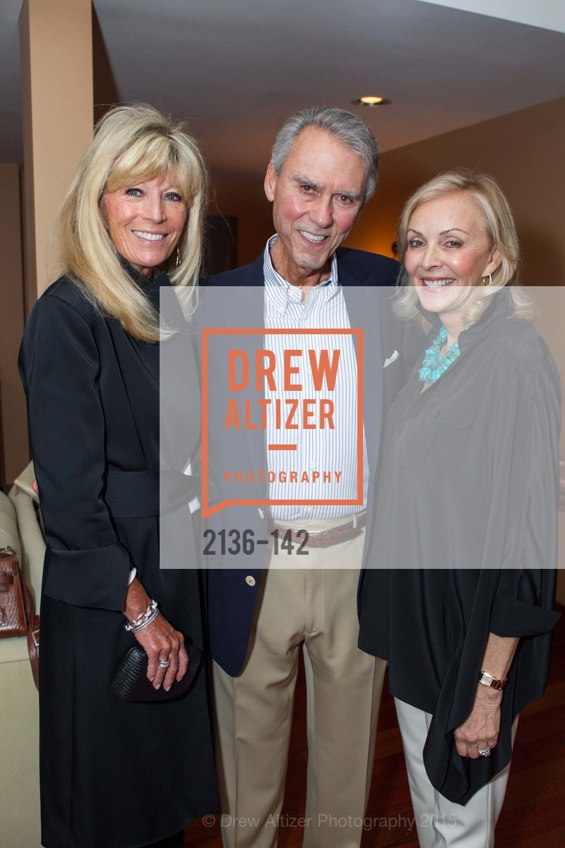 Susan Martin, Jim Hannay, Marsha Hannay, THE MAN WITHIN book launch with Randolph Churchill, Private Residence, June 2nd, 2015,Drew Altizer, Drew Altizer Photography, full-service event agency, private events, San Francisco photographer, photographer California
